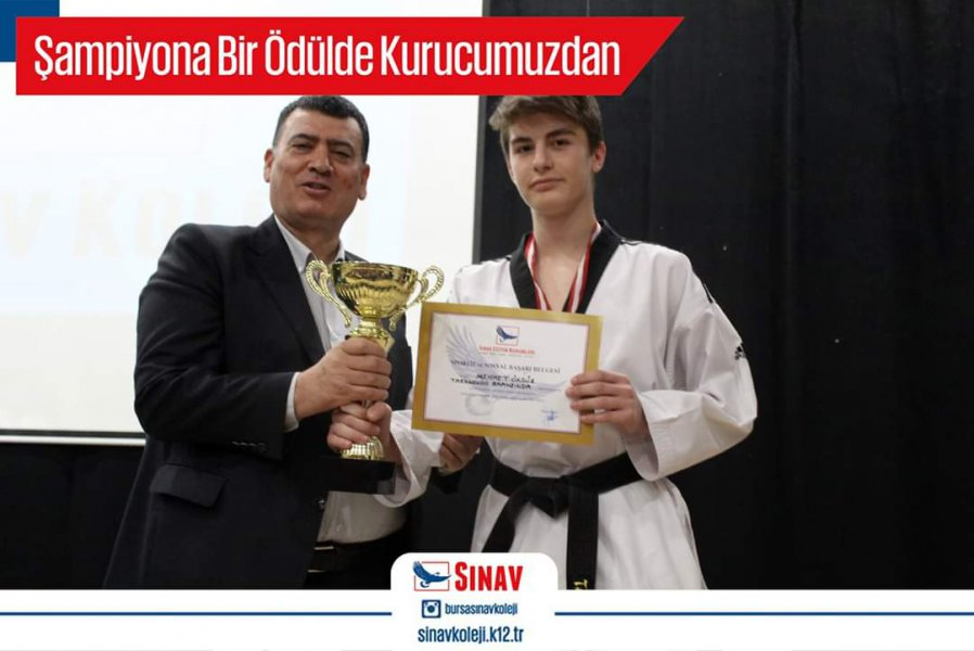 Okulumuz lise öğrencilerinden Mehmet ÖKSÜZ Taekwondo finalisti